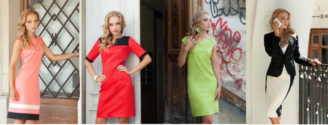 sukienki, garsonki, odzież damska, producent odzieży